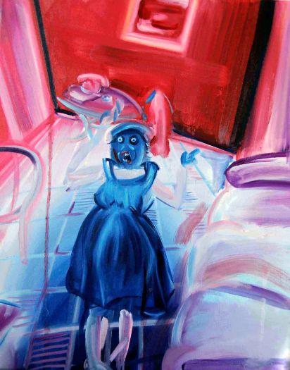 Untitled 40x50 oil paint 2014