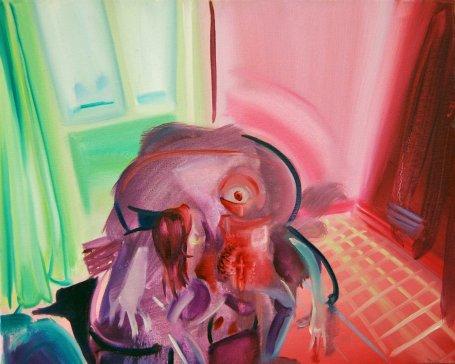 """""""Blob"""" 40x50 oil paint 2014"""