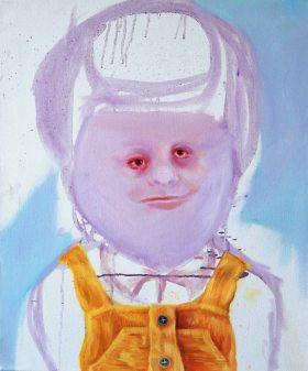 """""""Egg girl"""" 50x60 oil paint 2014"""
