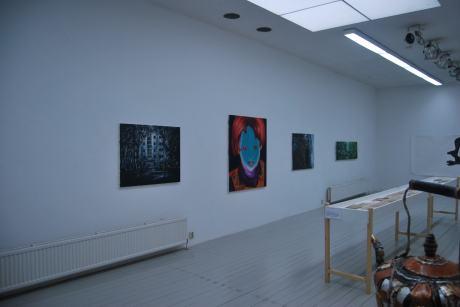 """Group exhibition, """"Wit bij Witteveen"""", Amsterdam Netherlands"""