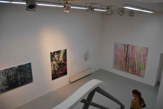 """Group exhibition, """"Wit bij Witteveen"""",Amsterdam"""