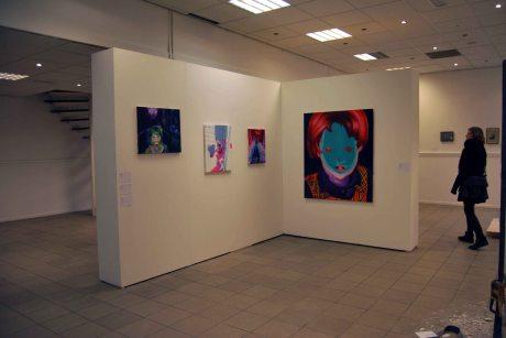 """Group exhibition """"Luchtkastel #1"""", Arnhem Netherlands"""
