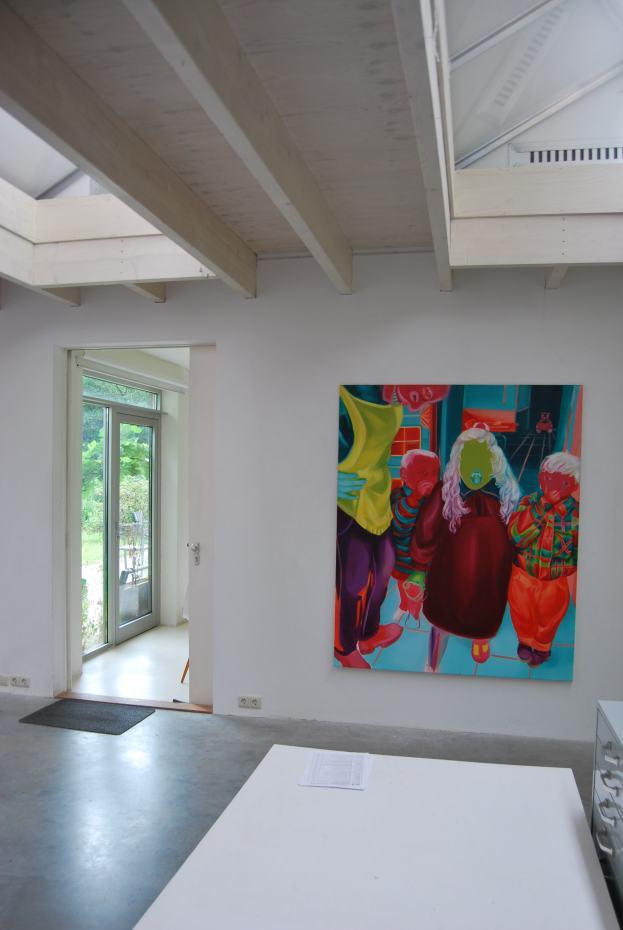"""Group exhibition, """"contrasten II"""" at Gallery wit, Wageningen"""