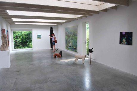 "Group exhibition, ""Contrasten II"" at Gallery Wit, Wageningen Netherlands"