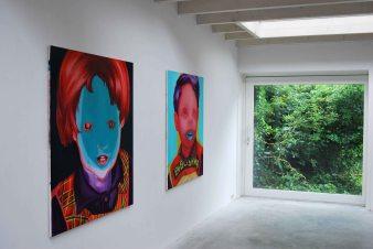"Group exhibition ""Contrasten II"" at galery Wit, Wageningen, Netherlands"