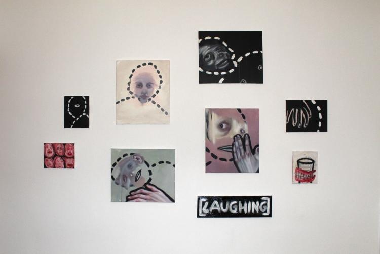 """Group exhibition """"Upload"""" at Underground, Antwerp Belgium"""